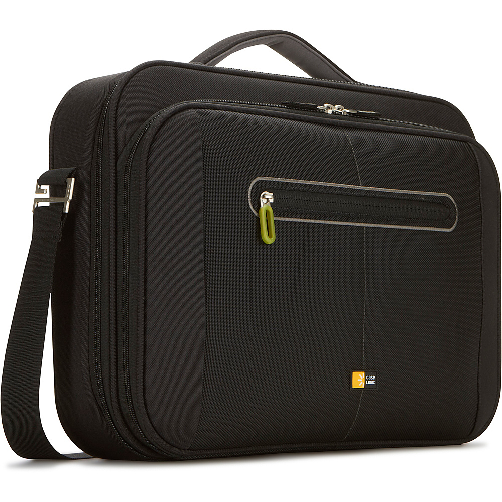 Case Logic 16 Laptop Briefcase - Black - Work Bags & Briefcases, Non-Wheeled Business Cases
