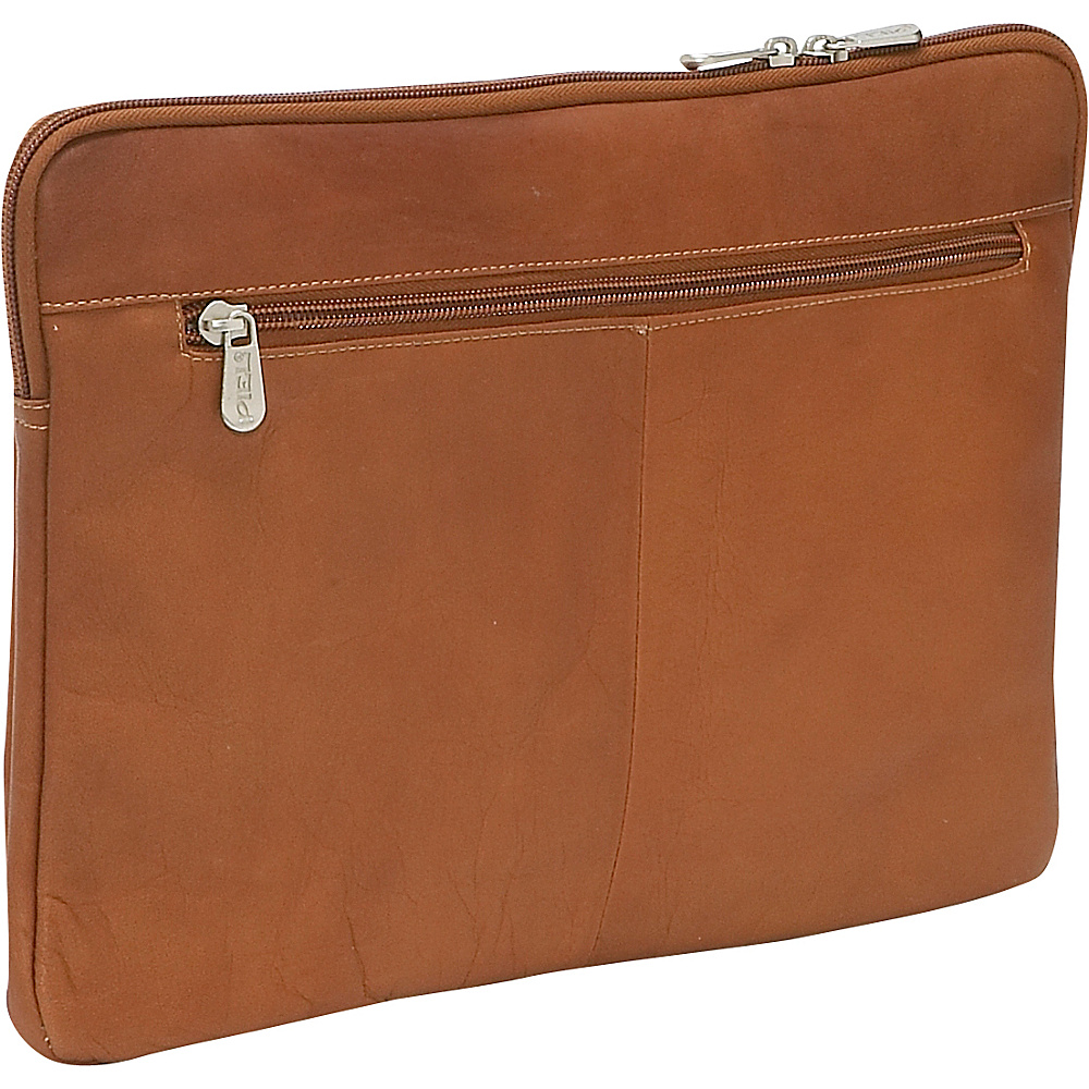 Piel 13 Zip Laptop Sleeve Saddle - Piel Electronic Cases - Technology, Electronic Cases