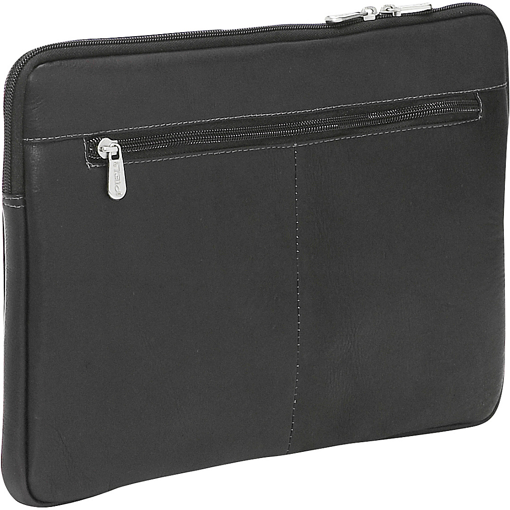 Piel 13 Zip Laptop Sleeve Black