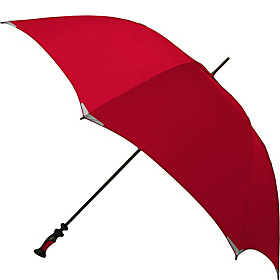 WalkSafe® Vented Golf Umbrella - Solid Colors Red