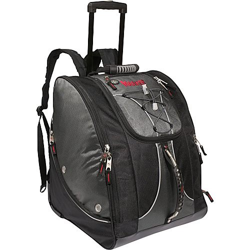 "Marker Wheeling ""Everything"" Boot Bag - Charcoal/Black"