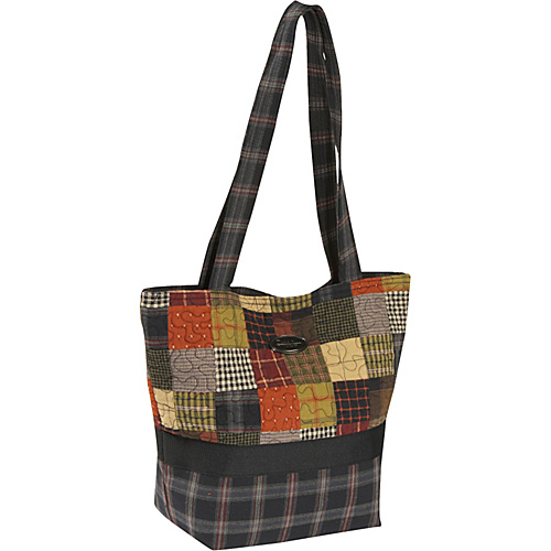 Donna Sharp Large Patched Tote, Woodland - Tote