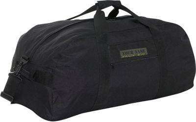 SOC Gear Troop Duffle Bag Black - SOC Gear Outdoor Duffels