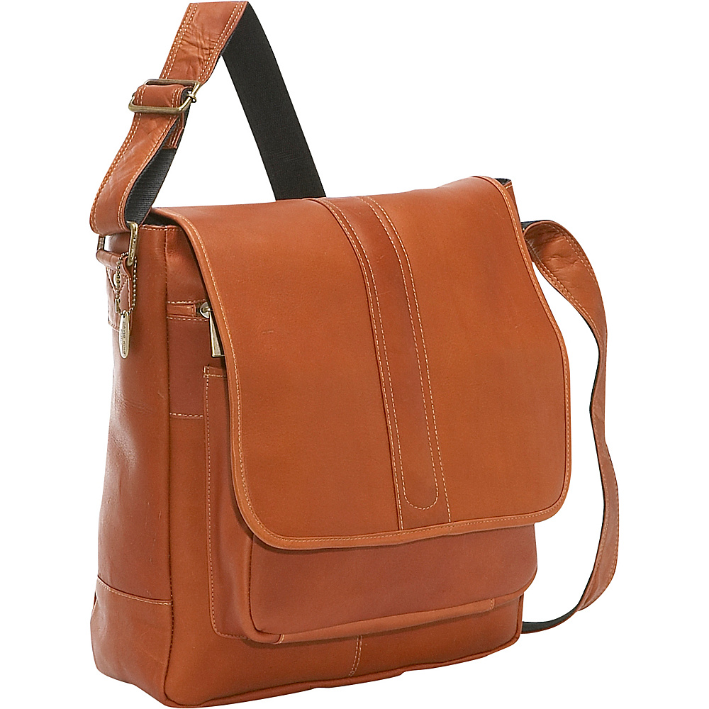 David King Co. Laptop Messenger w Front Gusset