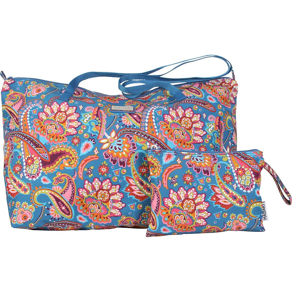 Hadaki Lagniappe Tote Cassandra Paisley - Hadaki Manmade Handbags - Handbags, Manmade Handbags