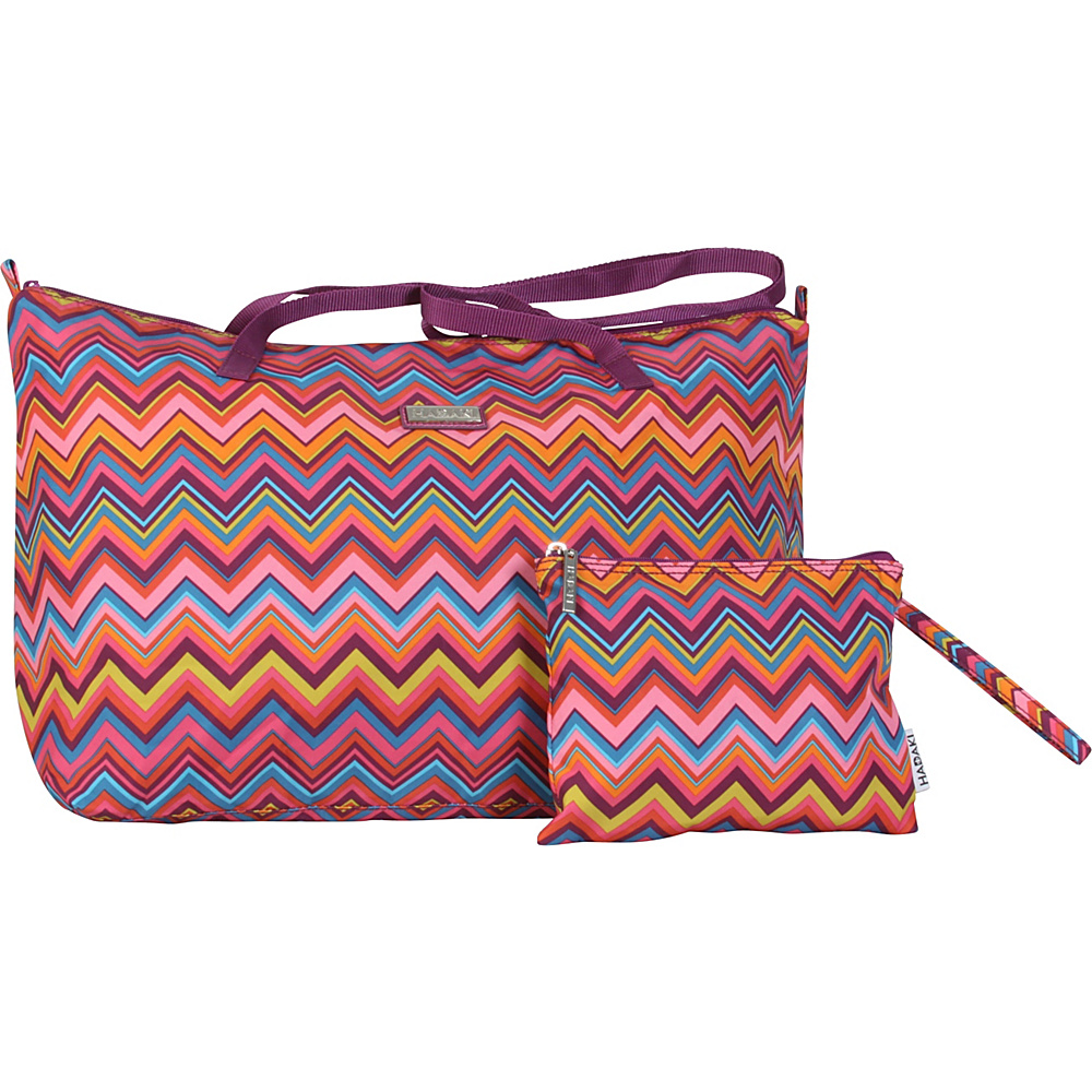 Hadaki Lagniappe Tote Cassandra ZigZag - Hadaki Manmade Handbags - Handbags, Manmade Handbags
