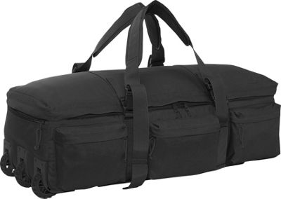 SOC Gear Rolling Load Out Bag - Black