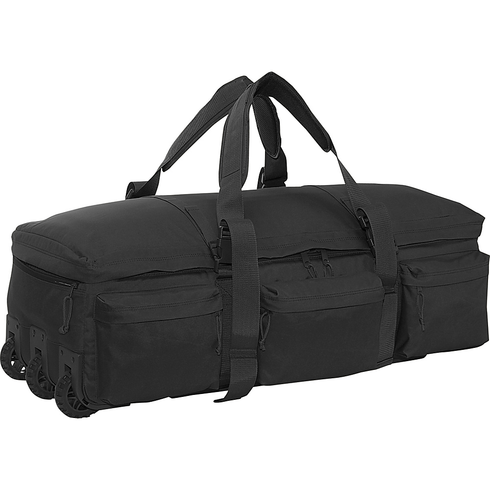SOC Gear Rolling Load Out Bag - Black - Luggage, Softside Checked
