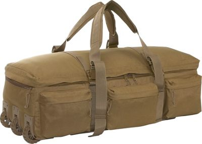 SOC Gear Rolling Load Out Bag - Coyote Brown, Coyote