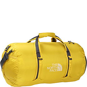 Flyweight Duffel - Medium Leopard Yellow
