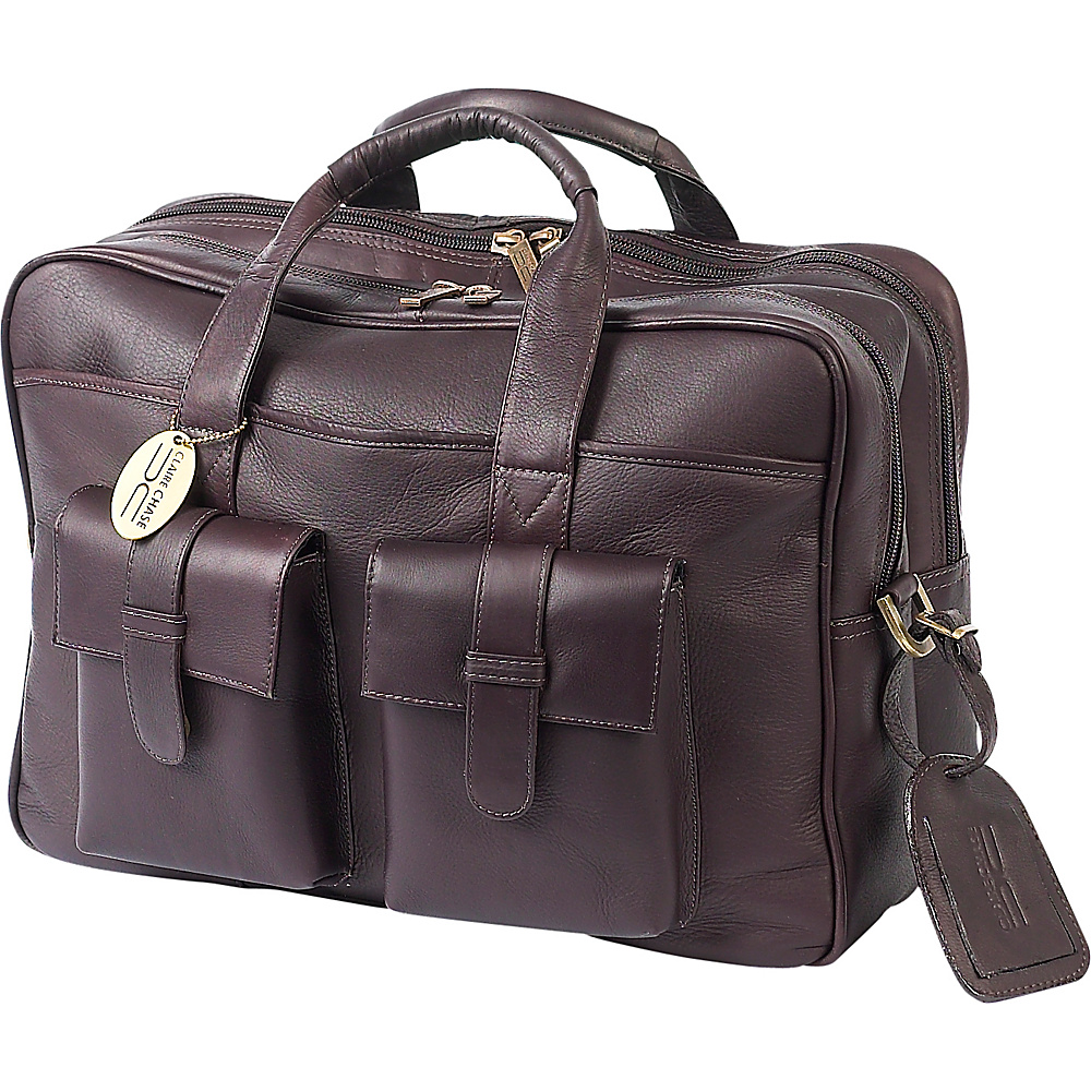 ClaireChase Platinum Computer Briefcase - Cafe - Work Bags & Briefcases, Non-Wheeled Business Cases