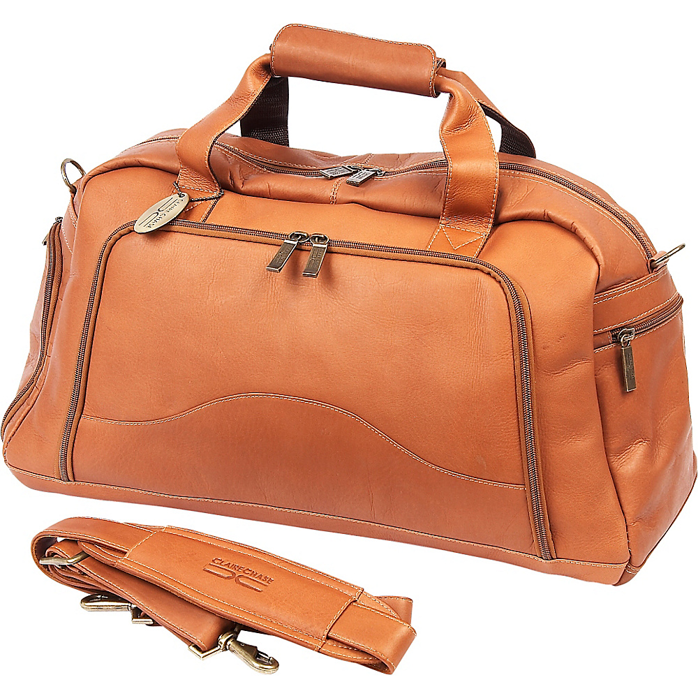 ClaireChase Weekender Duffel - Saddle - Duffels, Travel Duffels
