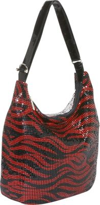 Mellow World Zebra Hobo Bag
