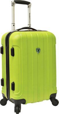 Traveler's Choice Cambridge Hardsided Spinner Luggage - 20 inch Green - Traveler's Choice Hardside Carry-On