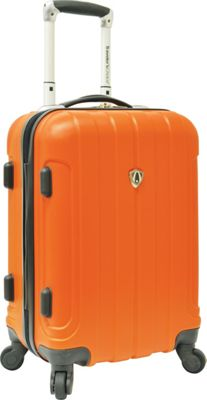 Traveler's Choice Cambridge Hardsided Spinner Luggage - 20 inch Orange - Traveler's Choice Hardside Carry-On