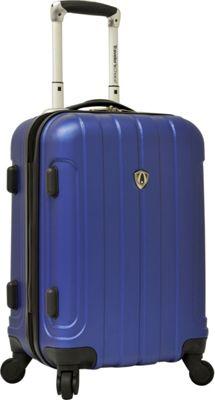 Traveler's Choice Cambridge Hardsided Spinner Luggage - 20 inch Royal Blue - Traveler's Choice Hardside Carry-On