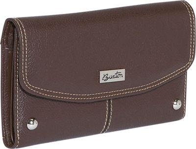 Buxton Westcott Checkbook Clutch 8 Colors Women's Wallet ...