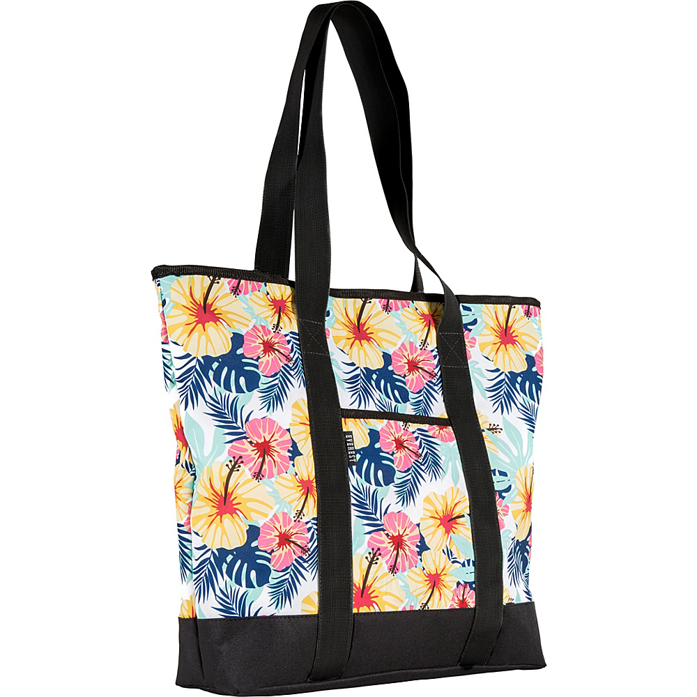 Everest Deluxe Shopping Tote Bag Tropical - Everest Fabric Handbags - Handbags, Fabric Handbags