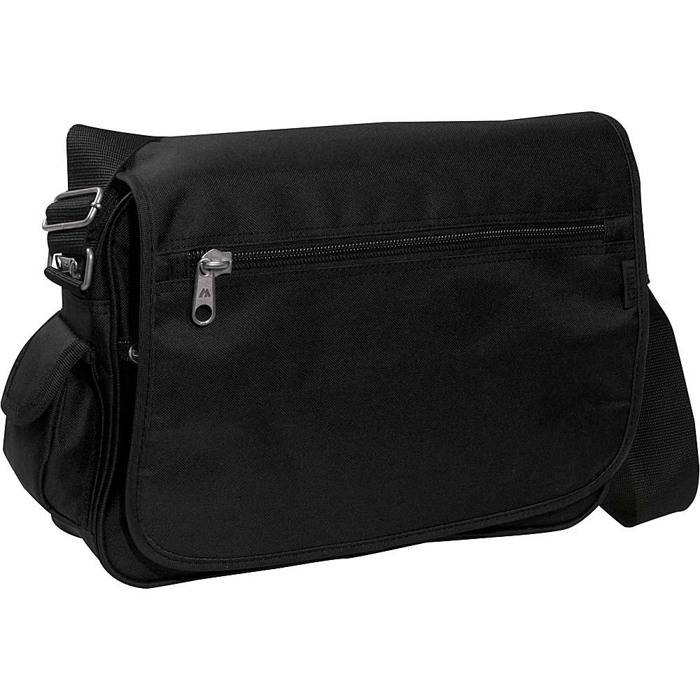 Everest Casual Messenger - Black - Work Bags & Briefcases, Messenger Bags