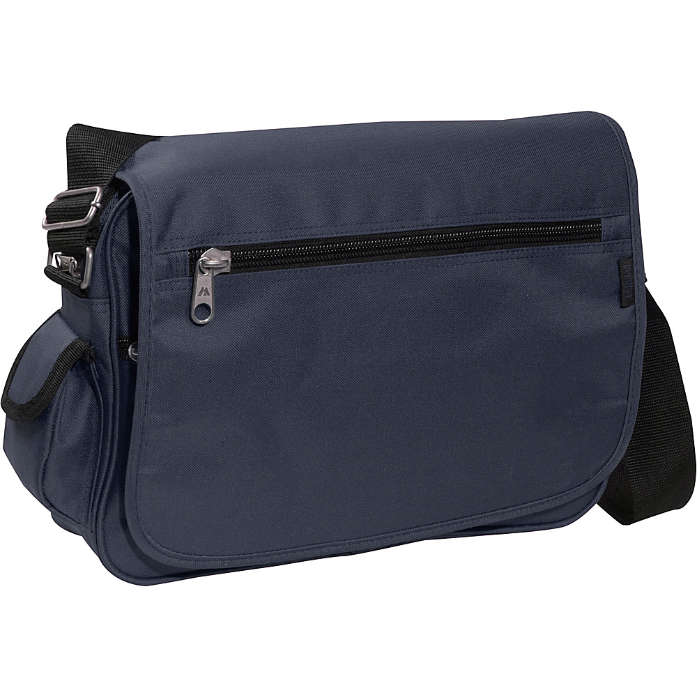 Everest Casual Messenger - Navy - Work Bags & Briefcases, Messenger Bags