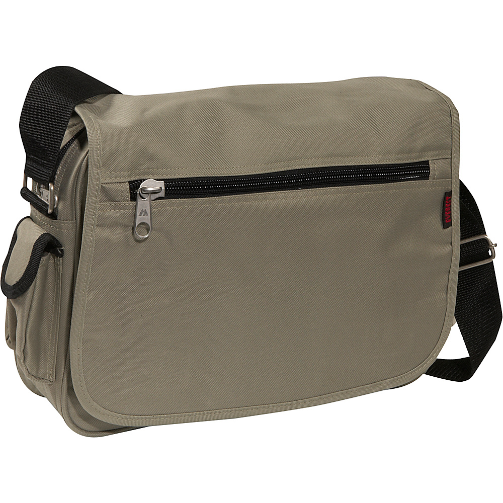 Everest Casual Messenger - Khaki - Work Bags & Briefcases, Messenger Bags