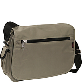 Casual Messenger Khaki