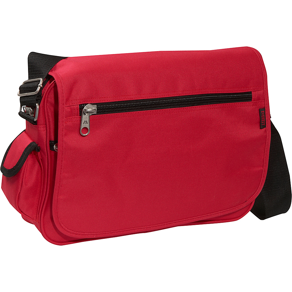 Everest Casual Messenger - Red - Work Bags & Briefcases, Messenger Bags