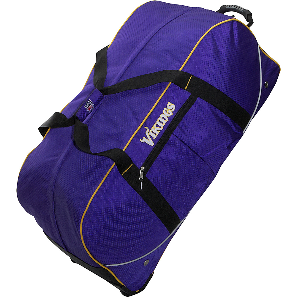 Athalon Minnesota Vikings NFL 35 Wheeling Duffel Bag