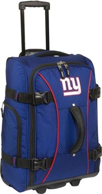 Athalon New York Giants NFL 21 inch Wheeling Hybrid Luggage Carryon