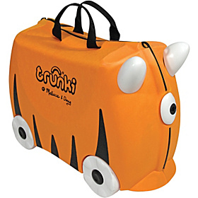 Trunki Sunny Rolling Kids Luggage Orange