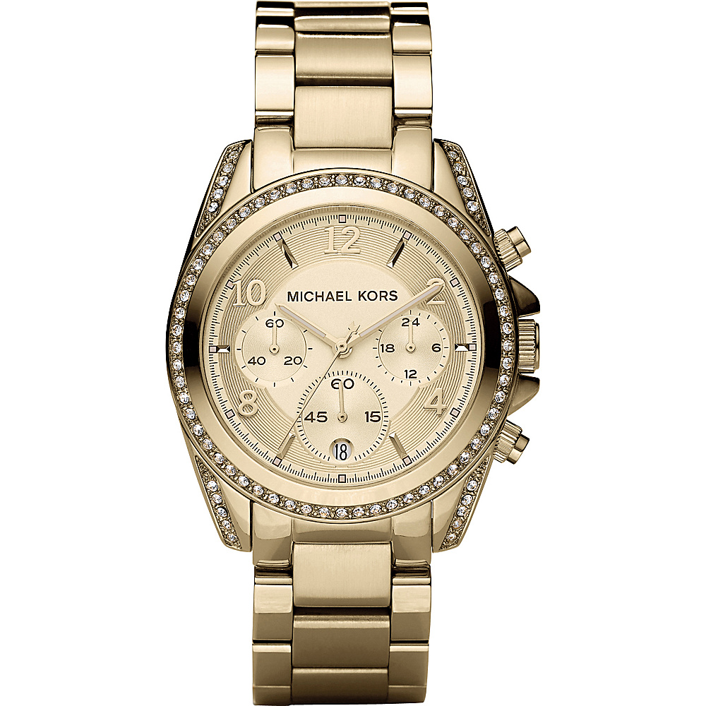 Michael Kors Watches Ladies Gold Blair - Gold