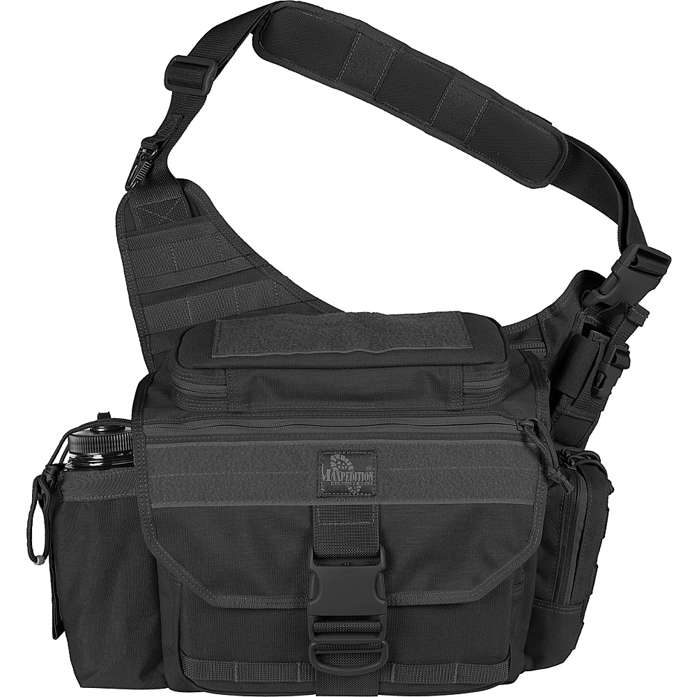 Maxpedition Mongo Versipack - Black - Outdoor, Day Hiking Backpacks