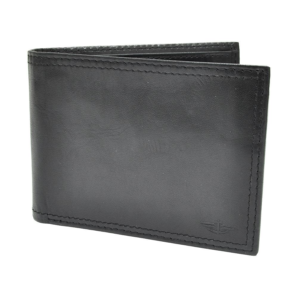 Dockers Wallets Extra Capacity Slimfold Wallet - Black