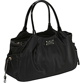 Stevie Nylon Baby Bag Black