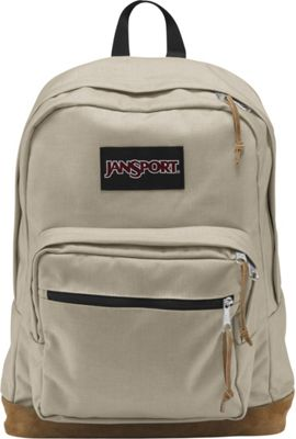 JanSport Right Pack Laptop Backpack - 15 inch Desert Beige - JanSport Business & Laptop Backpacks