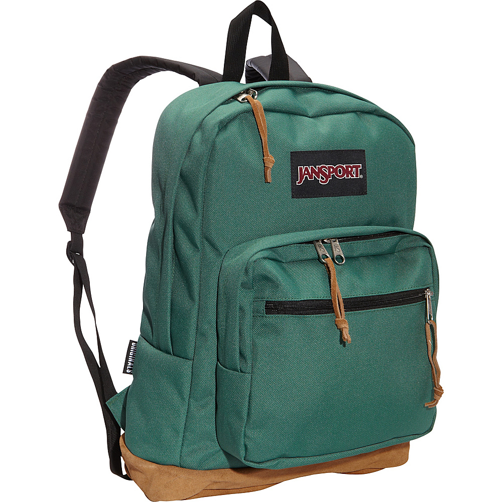 JanSport Right Pack Laptop Backpack Barber Green - JanSport Laptop Backpacks - Backpacks, Laptop Backpacks