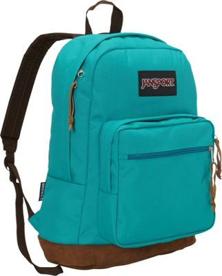 JanSport Right Pack Laptop Backpack - 15 inch Spanish Teal - JanSport Business & Laptop Backpacks