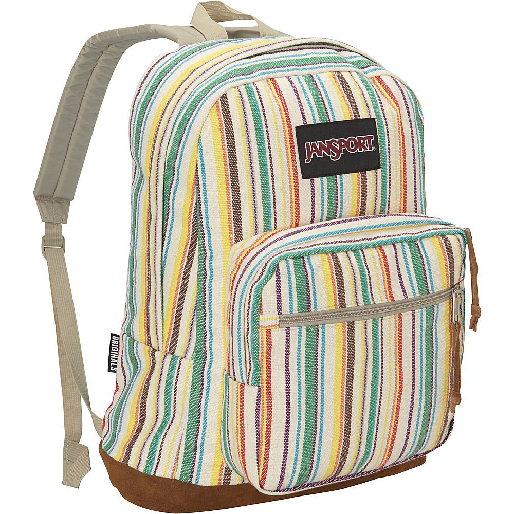 JanSport Right Pack Laptop Backpack Multi Weave Striped - Expressions - JanSport Laptop Backpacks - Backpacks, Laptop Backpacks
