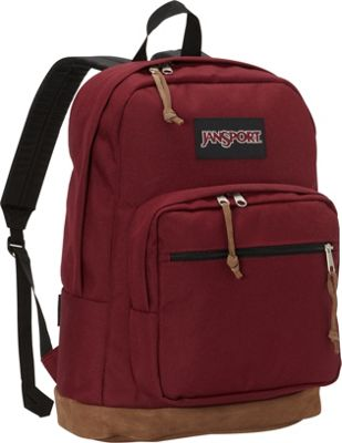 JanSport Right Pack Laptop Backpack - 15 inch Russet Red - JanSport Business & Laptop Backpacks