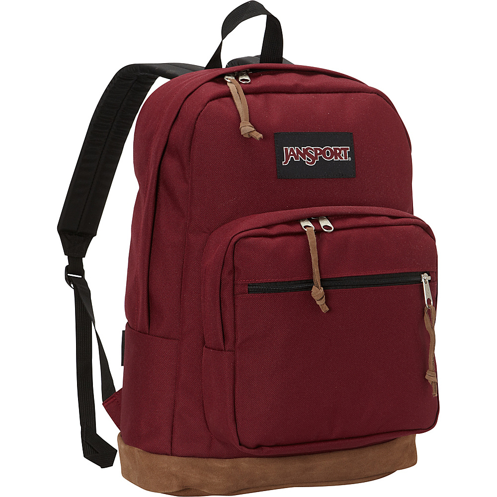 JanSport Right Pack Laptop Backpack - 15 Russet Red - JanSport Business & Laptop Backpacks - Backpacks, Business & Laptop Backpacks