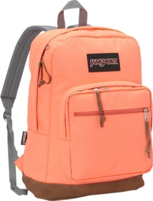 Neon Orange Jansport Backpack 121RGvGT