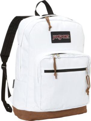 Jansport White Backpack EIdr4lDO