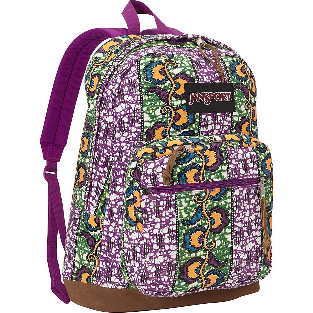 JanSport Right Pack Laptop Backpack Orange Gold Togo Wax Blossom - JanSport Laptop Backpacks - Backpacks, Laptop Backpacks