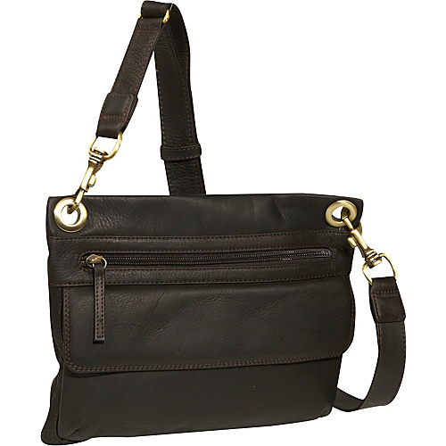 Derek Alexander EW slim shoulder bag - Brown