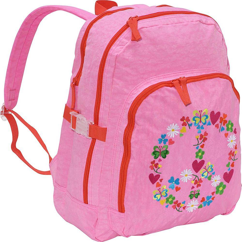 Miquelrius Agatha Ruiz de la Prada Peace & Love Large - Backpacks, Everyday Backpacks