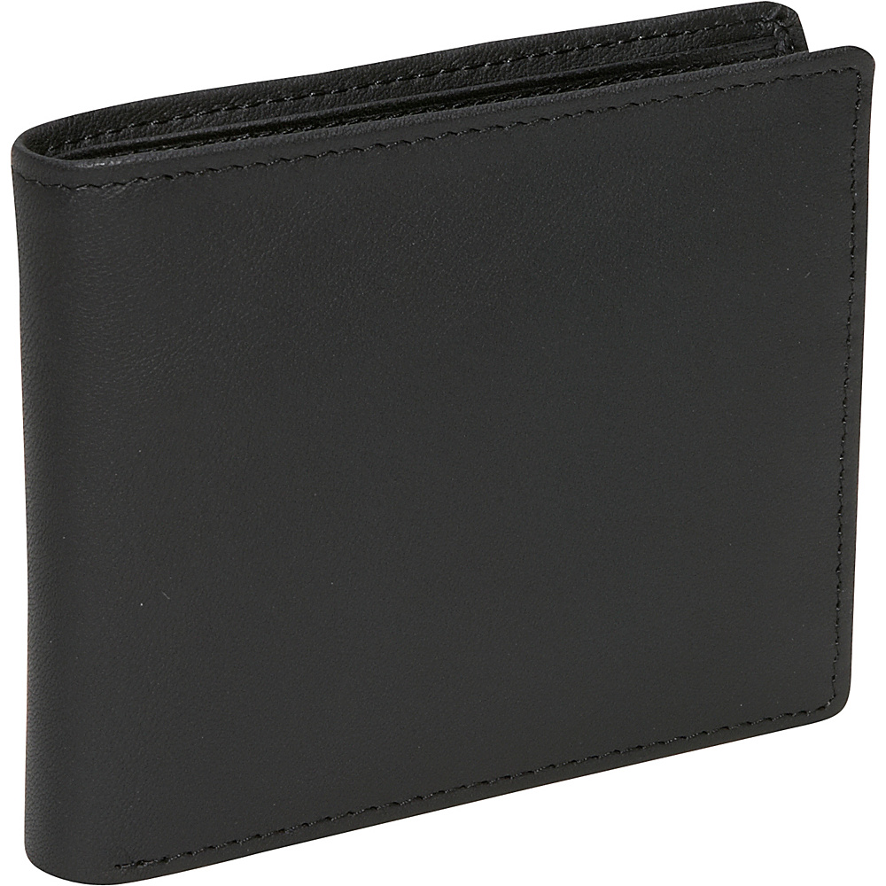 Royce Leather RFID Blocking Bifold w/ Double ID Flap - - Work Bags & Briefcases, Men's Wallets