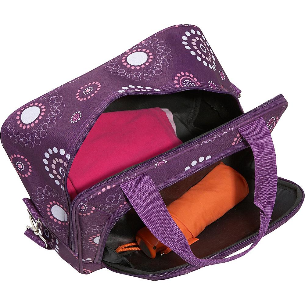 Rockland Luggage 4 Piece Nairobi Luggage Set - Pink