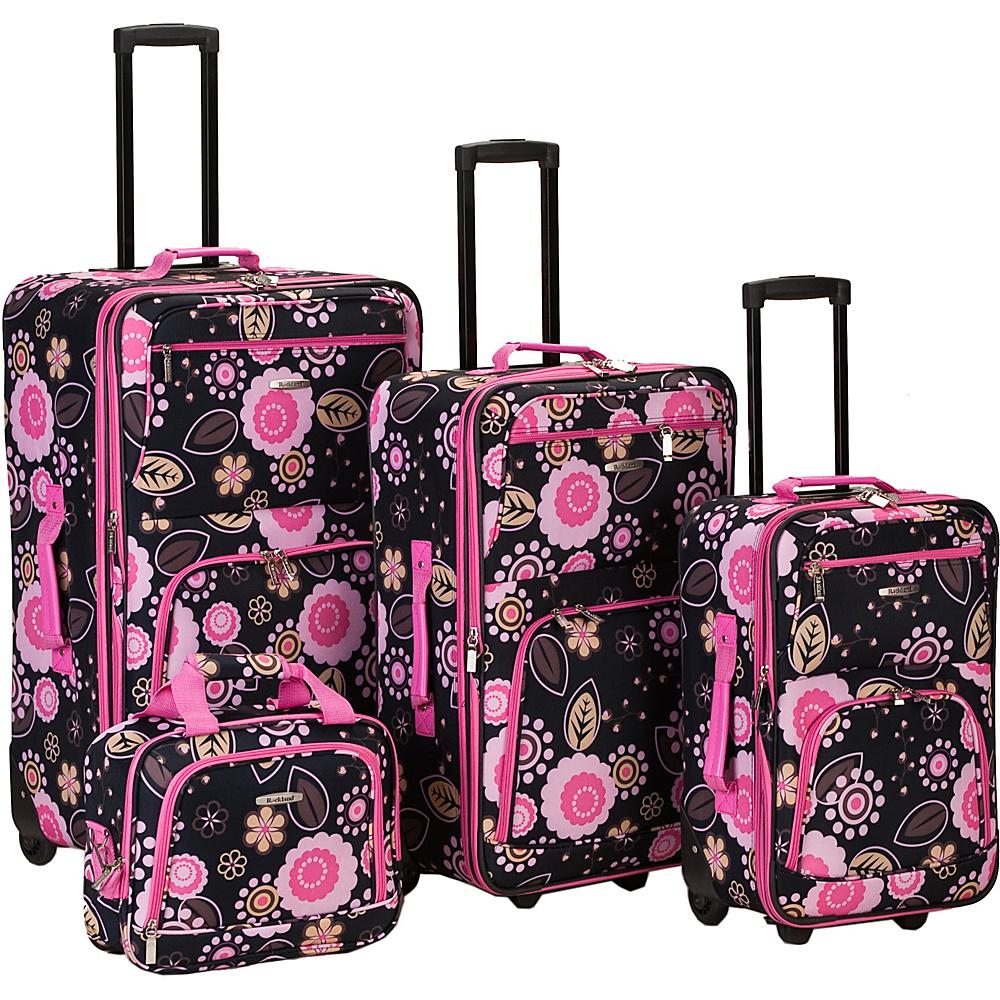 Rockland Luggage 4 Piece Nairobi Luggage Set - Pucci