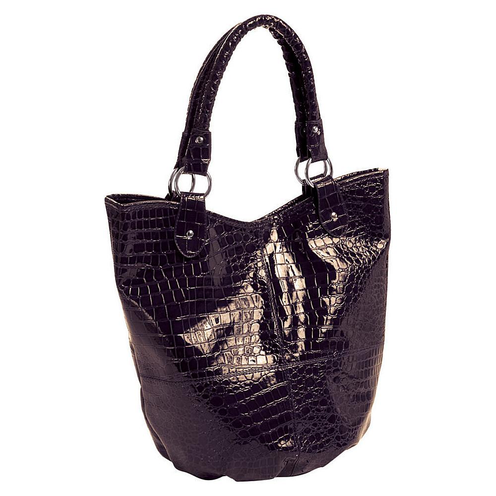Parinda Adria Tote 4 piece set Mocca - Parinda Manmade Handbags