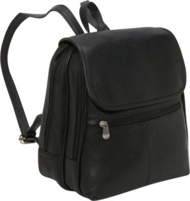 Black Backpack Purse sykqd1TJ